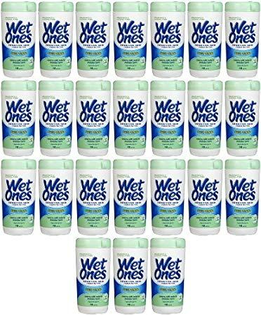 Wet Ones Extra Gentle Sensitive Skin Wipes 960ct (24 x 40ct)