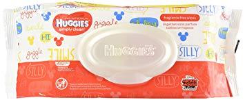 Huggies Simply Clean Baby Wipes - Flip Top - 72 ct