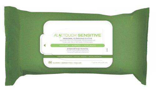 MEDLINE MSC263150A MSC263150AH Aloetouch SELECT Premium Spunlace Personal Cleansing Wipes