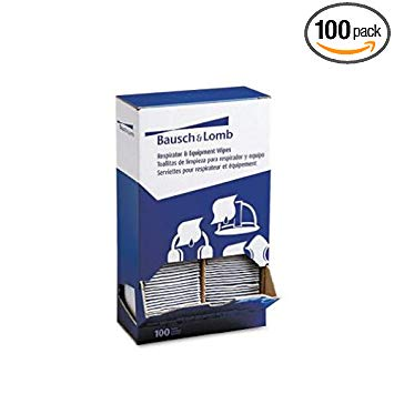 BAL8595 - Bausch amp; Lomb Antibacterial Office Equipment Wet Wipes