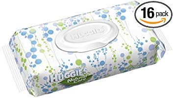 Huggies Natural Care Fragrance Free Baby Wipes X 56 CT (Pack of 16)